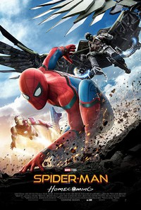 Spider-Man: Homecoming main cover