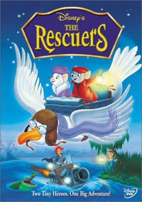 The Rescuers main cover