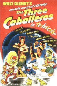 The Three Caballeros main cover