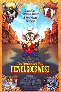 An American Tail: Fievel Goes West main cover