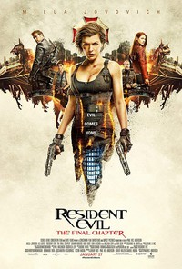 Resident Evil: The Final Chapter main cover