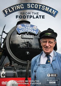 Flying Scotsman from the Footplate main cover