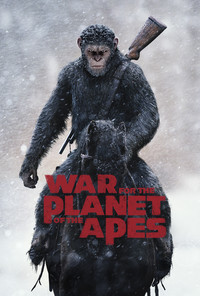 War for the Planet of the Apes main cover