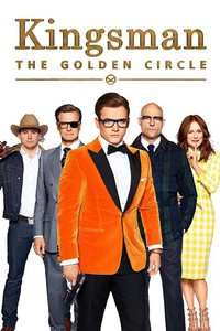 Kingsman: The Golden Circle main cover
