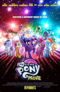 My Little Pony: The Movie main cover