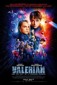 Valerian and the City of a Thousand Planets main cover