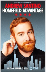 Andrew Santino: Home Field Advantage main cover