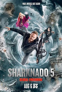 Sharknado 5: Global Swarming main cover