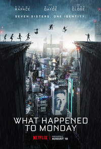 What Happened to Monday (Seven Sisters) main cover