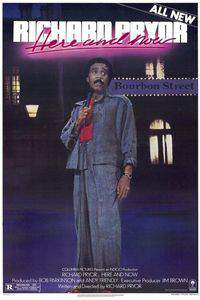 Richard Pryor ...Here and Now main cover
