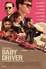 Baby Driver movie cover