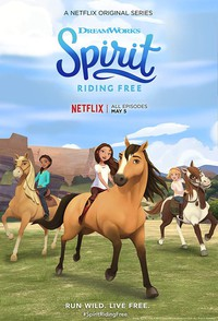 Spirit Riding Free movie cover