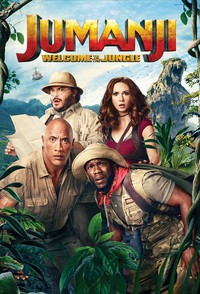 Jumanji: Welcome to the Jungle main cover