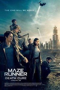 Maze Runner: The Death Cure main cover