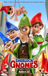 Sherlock Gnomes (Gnomeo & Juliet 2) main cover
