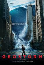 geostorm movie cover