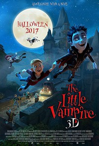 The Little Vampire 3D main cover