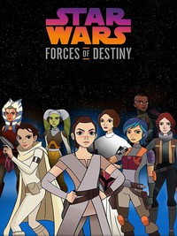 Star Wars: Forces of Destiny movie cover