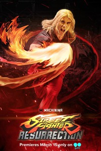 Street Fighter: Resurrection movie cover