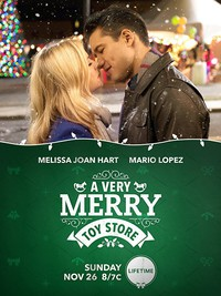 A Very Merry Toy Store main cover