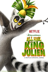 All Hail King Julien movie cover