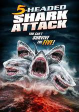 5_headed_shark_attack movie cover