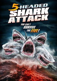 5 Headed Shark Attack main cover