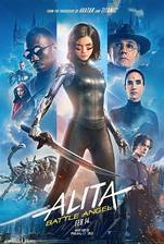 Alita: Battle Angel movie cover