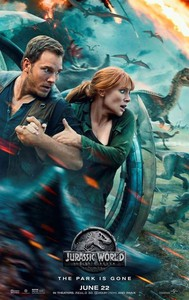 Jurassic World: Fallen Kingdom main cover