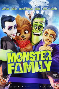 Monster Family (Happy Family) main cover