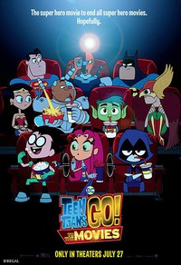 Teen Titans Go! To the Movies main cover