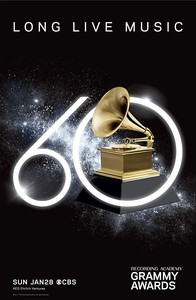 The 60th Annual Grammy Awards main cover