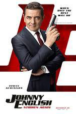 Johnny English Strikes Again movie cover