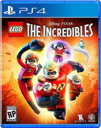 LEGO The Incredibles main cover