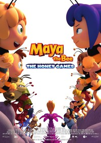 Maya the Bee: The Honey Games main cover