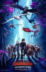How to Train Your Dragon 3: The Hidden World movie cover