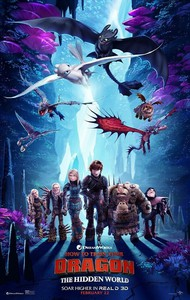 How to Train Your Dragon 3: The Hidden World main cover