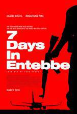 7 Days in Entebbe movie cover