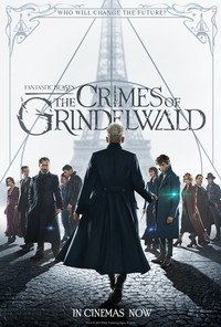 Fantastic Beasts: The Crimes of Grindelwald main cover