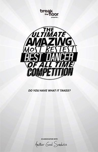 The Ultimate Amazing Most Bestest Best Dancer of All Time Competition main cover