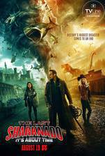 The Last Sharknado: It's About Time movie cover