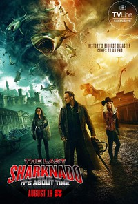 The Last Sharknado: It's About Time main cover