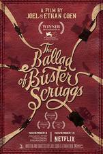 The Ballad of Buster Scruggs movie cover