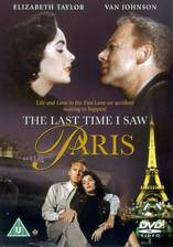 the_last_time_i_saw_paris movie cover