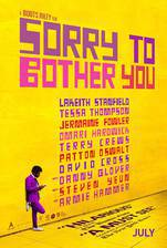 Sorry to Bother You movie cover
