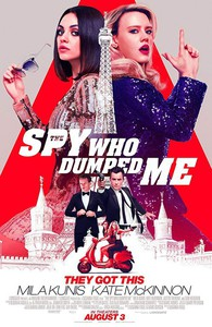 The Spy Who Dumped Me main cover
