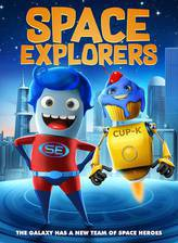 Space Explorers movie cover