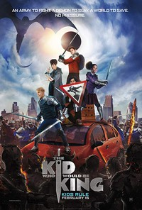 The Kid Who Would Be King main cover