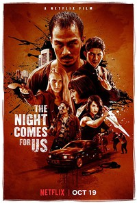 The Night Comes for Us main cover