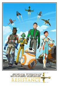 Star Wars Resistance movie cover